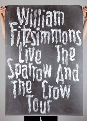 Zwoelf_william_fitzsimmons_sparrow_crow_01_poster